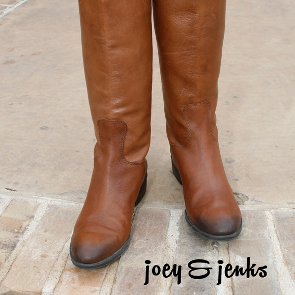 7d35fa86d669 Sam Edelman Penny Riding Boots Whiskey Leather 8.5.  M 5bf1f238a31c3378b0f24284